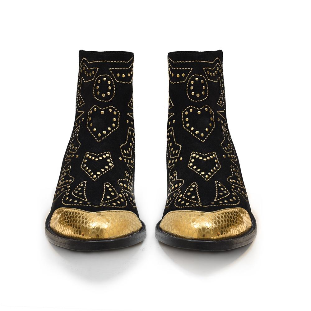 HEIDI BLACK/GOLD