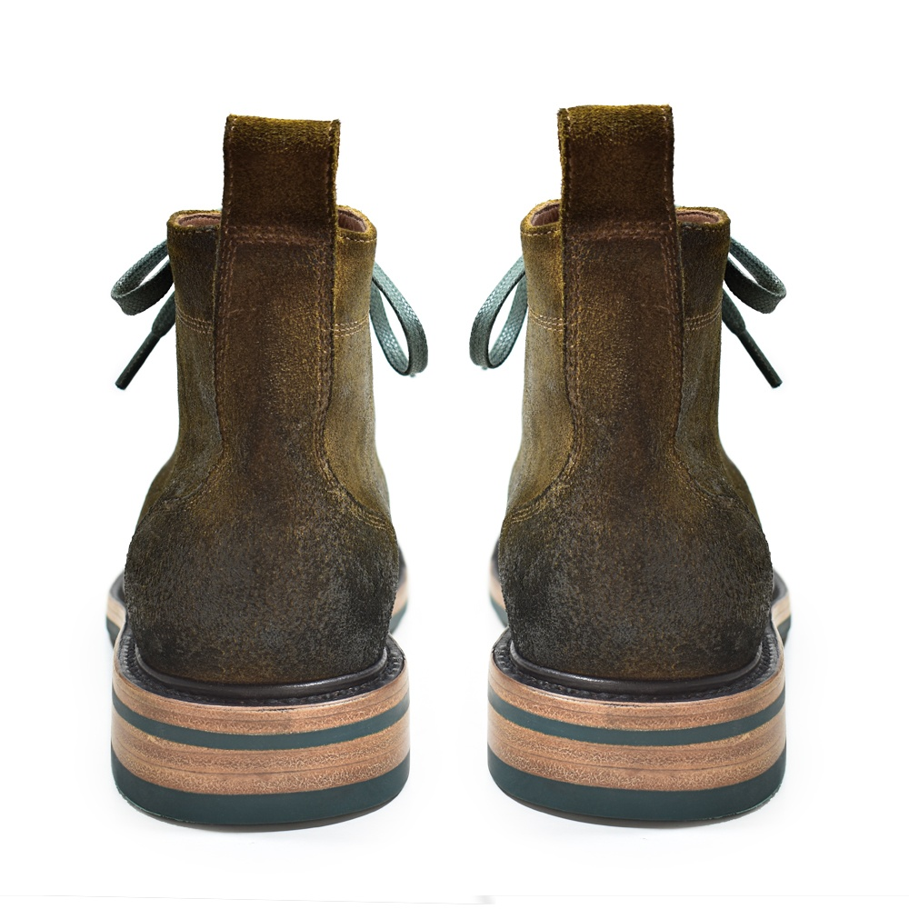 THEO LACE UP BROWN